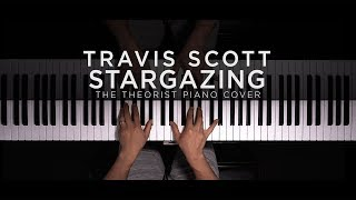 Travis Scott - STARGAZING | The Theorist Piano Cover