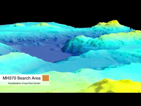 Flythrough of bathymetry 2015
