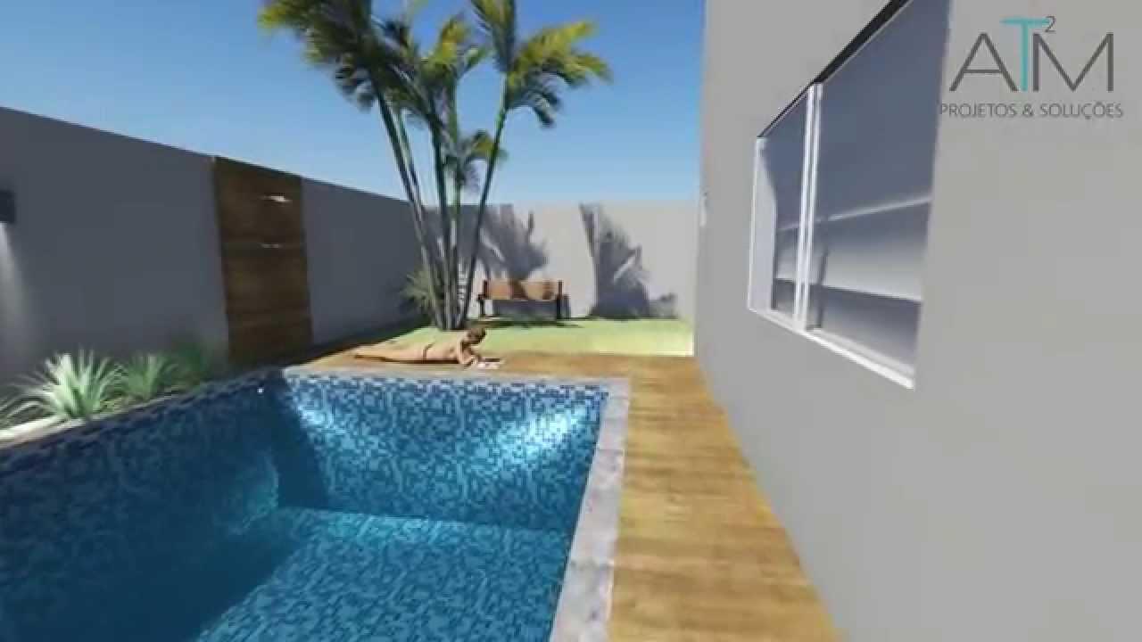Sobrado moderno e compacto youtube for Casa moderna 2 andares 3 quartos
