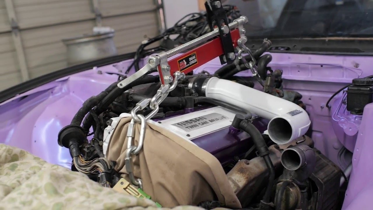 how to rb20 swap 240sx s13 project 240sx episode 6 youtube rh youtube com RB25DET Specs RB20DET Throttle Cable Bracket