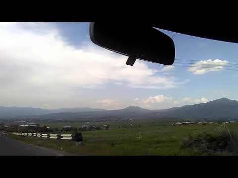 Красивая дорога из Гарни в город-спутник Еревана - Абовян, май 2019  | туризм в Армении