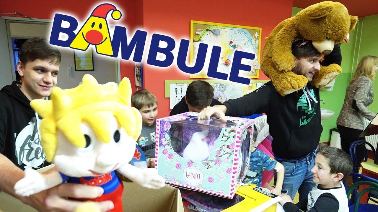 Předáváme Hračky Dětem v Nemocnici #2   Jura, Tary a Bambule