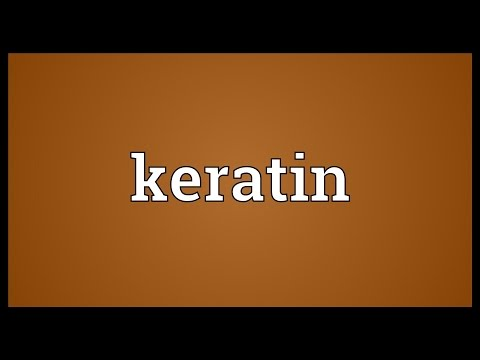 Keratin Meaning