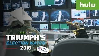 Triumph Stages Trump TV Casting Call for Conservative Commentators • Triumph on Hulu