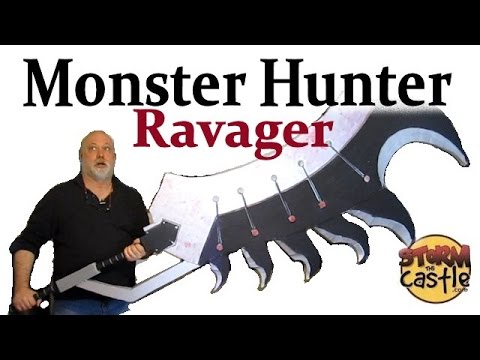 Make the Monster Hunter Ravager Blade