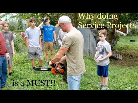 Being a business owner - Why doing service projects is a MUST!!
