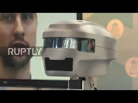 Russia: Android robot meets Patriarch Kirill at Orthodox Student Forum