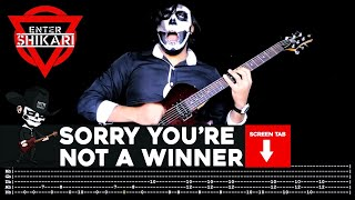 Скачать Enter Shikari Sorry You Re Not A Winner Guitar Cover By Masuka W Tab