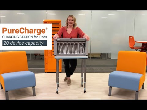 Bretford: PureCharge® Station | iPad Charging Station - 20 device capacity