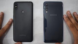 Motorola One Power vs Samsung Galaxy A7 2018 - Speed Test!!!