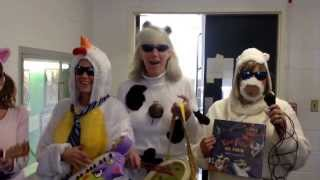 Teachers on Book Character Day
