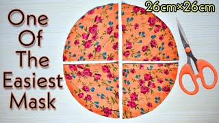 Easy Fast New Style Mask Make Fabric Face Mask At Home Face Mask Sewing Tutorial