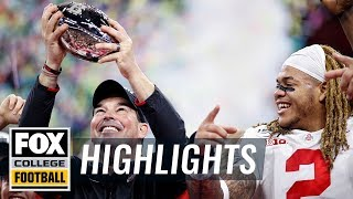 Ohio St. comes from behind to capture 3rd straight Big Ten Championship | HIGHLIGHTS | CFB ON FOX