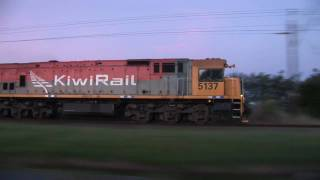 Pacing KiwiRail milk train