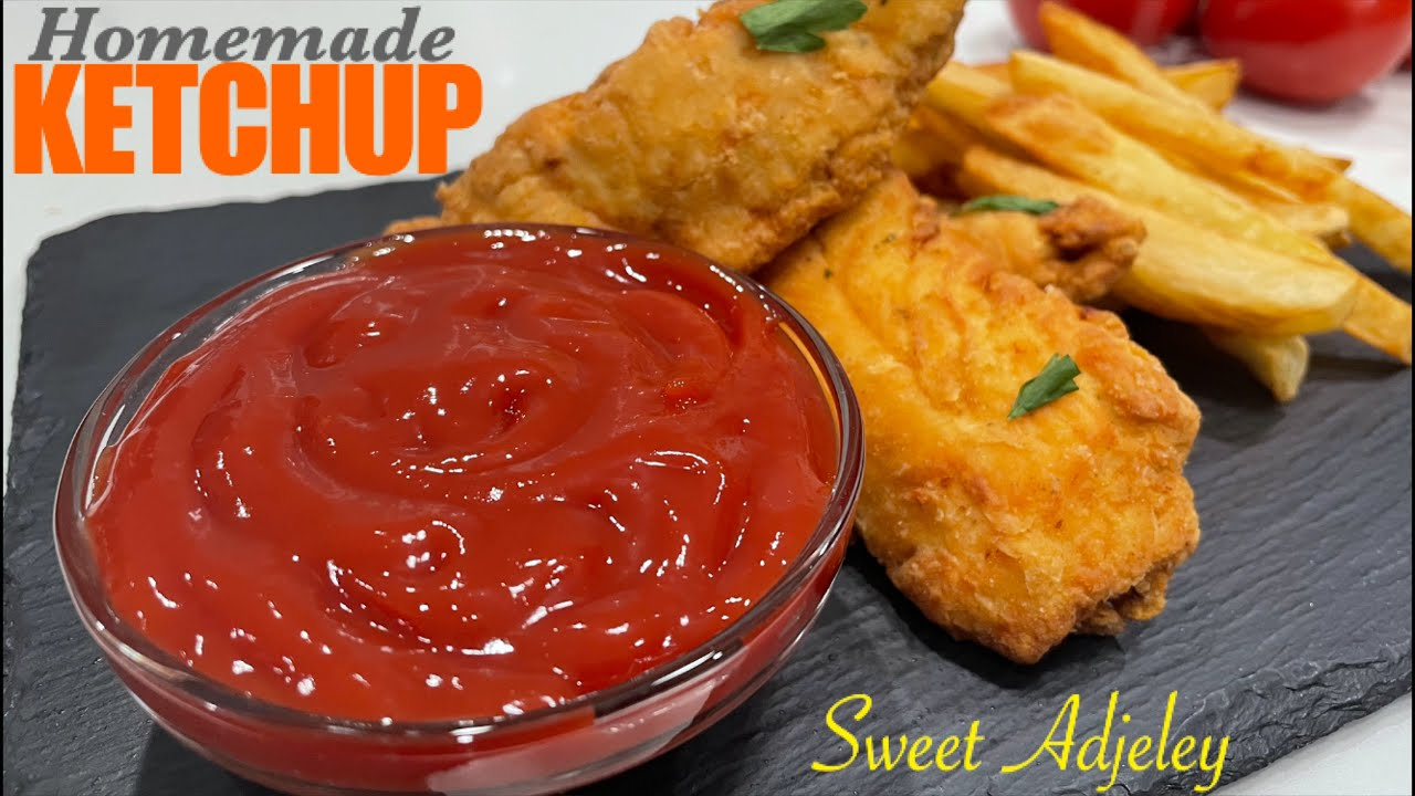 2 Easy Homemade Ketchup Recipes