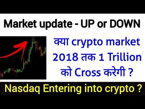 Will crypto cross 1 Trillion in 2018 | New big investors coming 🚀🚀