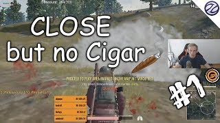 1v4 Solo Squad Game #1 | Close but no Cigar | Player Unknown's Battlegrounds
