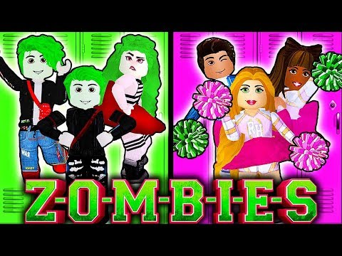 🧟♀️ZOMBIES VS CHEERLEADERS IN ROYALE HIGH!💗 Roblox Royale High School   Roblox Roleplay