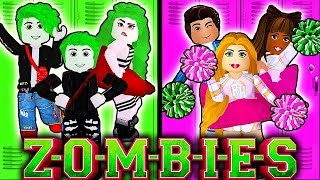 🧟♀️ZOMBIES VS CHEERLEADERS IN ROYALE HIGH!💗 Roblox Royale High School | Roblox Roleplay
