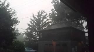 Summer Storm, Ashland Oregon