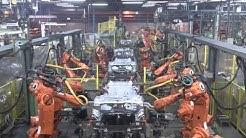 Spotwelding robots - Automotive industry