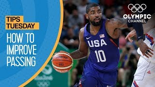 How To Improve Your Basketball Passing | Olympians' Tips