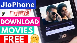 How to download movies in Jio Phone