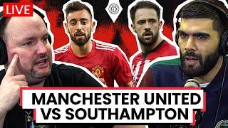 Manchester United 6-0 Southampton   LIVE Stream Watchalong