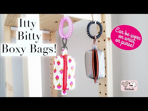 Itty Bitty Boxy Bags! A Great Quick Gift Idea. Perfect For Fish Extender Gifts!