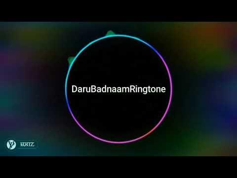 Daru Badnam Instrumental Ringtone ||VP EDITZ||