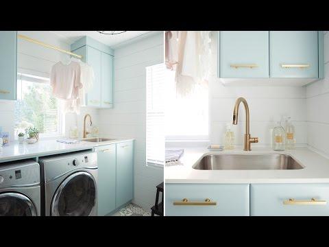 Interior Design — Colorful Laundry Room Design
