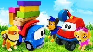 Фото Щенячий патруль и грузовичок Лева   Сказки Маши для детей   Мультик из игрушек