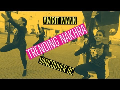 Amrit Mann l Trending Nakhra l Royal Queenz Bhangra in Vancouver BC Canada