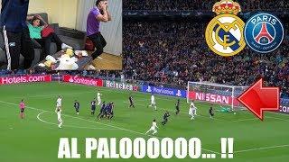 REAL MADRID 2-2 PSG *MADRIDISTAS REACCIONANDO AL PALO DE BALE*