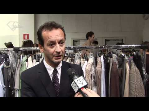 fashiontv | FTV.com - MILAN MEN S/S 11 - ICEBERG DESIGNER AT WORK