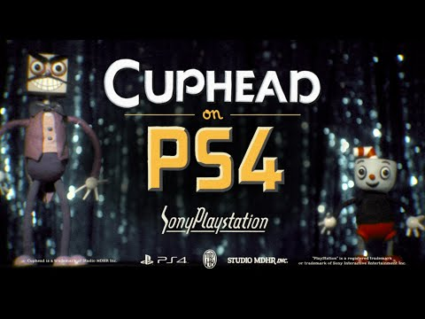 CUPHEAD PlayStation 4 Launch Trailer