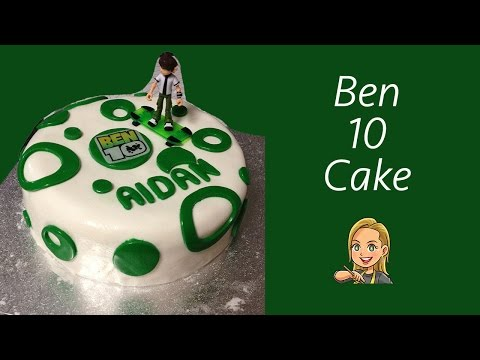 Ben 10 Theme Birthday Cake