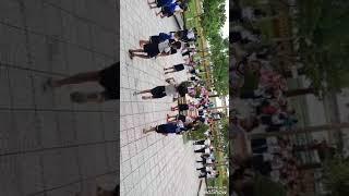 Học sinh trường Tiểu học Phú Mỹ 2 - múa hát sân trường