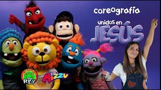UNIDOS EN JESÚS - Coreografía - Los Mizzu Y La Patrulla del Rey Canciones Infantiles