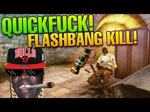 CS:GO Flash Kill! Holy shit Dude! by biBa - CS:GO QUICKFUCK #33