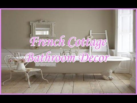 French Cottage Bathroom Ideas Shabby Chic Bathroom Decor