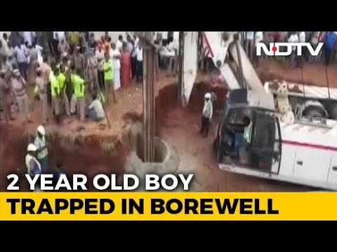2-Year-Old Tamil Nadu Boy Now Trapped In Borewell For Over 40 Hours