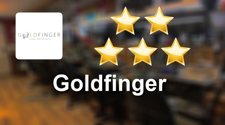 Goldfinger Shaped Wedding Ring London Great Five Star Review By Samantha L