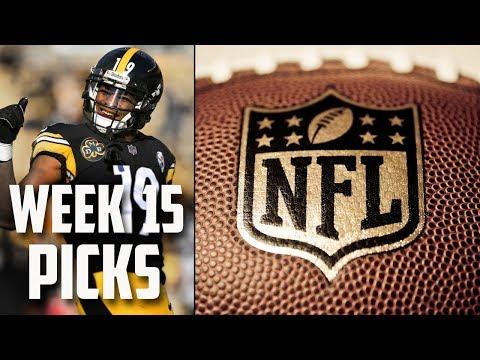 NFL WEEK 15 PICKS 2018 NFL GAME PREDICTIONS  WEEKLY NFL PICKS  NFL 2018-19 SEASON