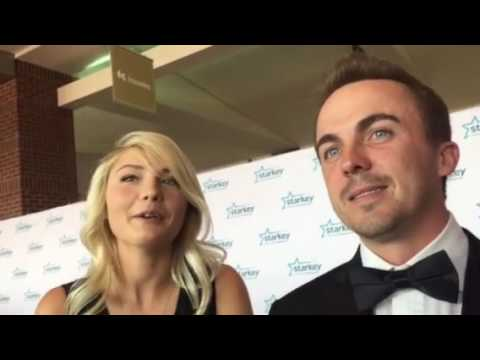 Interview with Frankie Muniz and his girlfriend