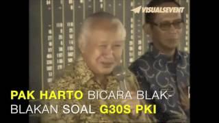 Video Rekaman Mantan Presiden Soeharto Blak-blakan Berbicara G30S PKI download MP3, 3GP, MP4, WEBM, AVI, FLV Maret 2018