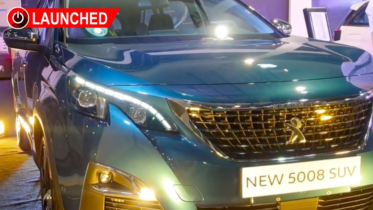 2020 Peugeot 5008 Allure Launch