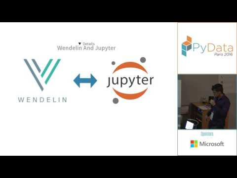 PyData Paris 2016 - Wendelin: from stock movements to pivot tables inside Jupyter