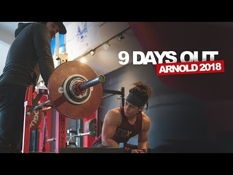 9 days out arnold 2018 youtube 9 days out arnold 2018 malvernweather Choice Image