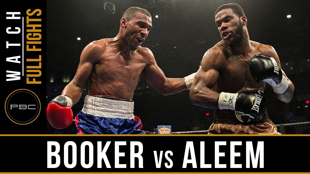 Aleem vs Booker FULL FIGHT: March, 17 PBC on BOUNCE